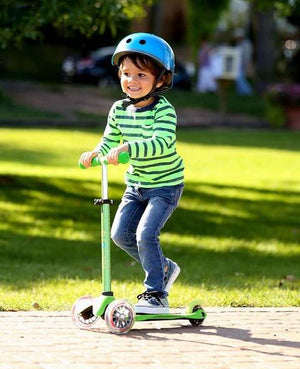 Micro Kickboard Mini Deluxe Scooter - Green