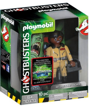 Playmobil Ghostbusters Collectors W. Zeddemore