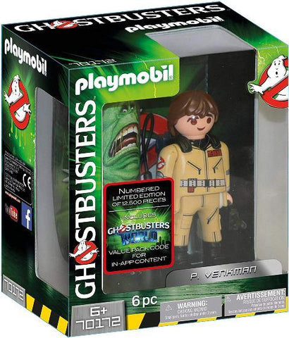 Playmobil Ghostbusters Collectors P. Venkman