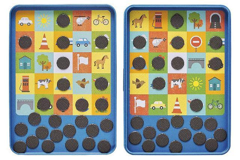 Petit Collage Game On-the-Go Magnetic Bingo