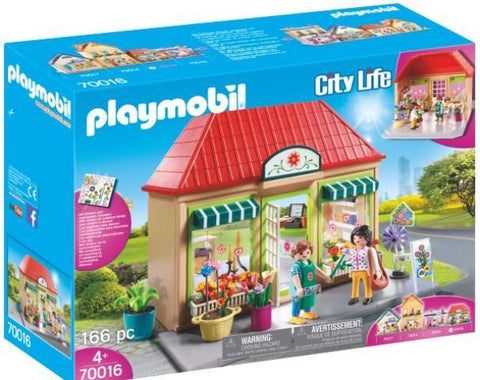 Playmobil City Life My Little Town Flower Shop