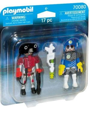 Playmobil Duo Space Police & Thief