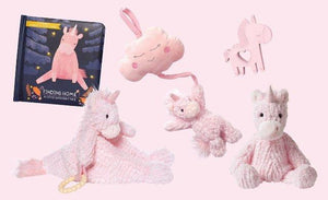 Manhattan Toys Adorables Petals Unicorn Pull Musical