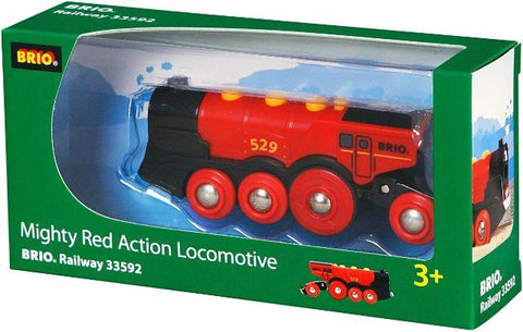 Brio Trains - Mighty Red Action Locomotive