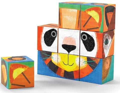 Crocodile Creek Puzzle Blocks - Make a Face