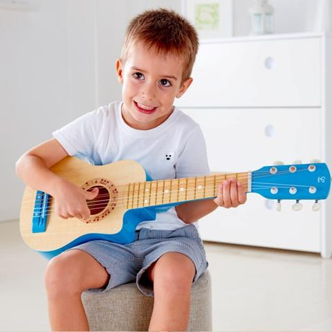Hape Early Melodies Vibrant Guitar, Blue