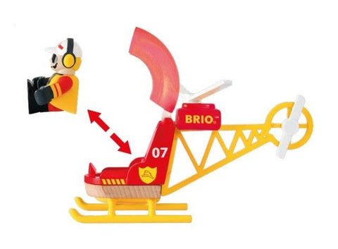 Brio Trains - Firefighter Helicopter