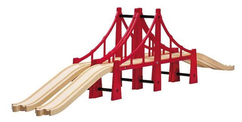 Brio Trains - Double Suspension Bridge