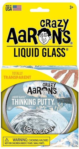Aaron's Thinking Putty World Liquid Glass - Crystal Clear