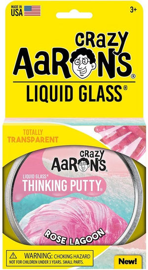 Aaron's Thinking Putty World Liquid Glass - Rose Lagoon