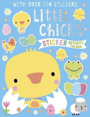 Little Chick's Sticker Activity Fun Book