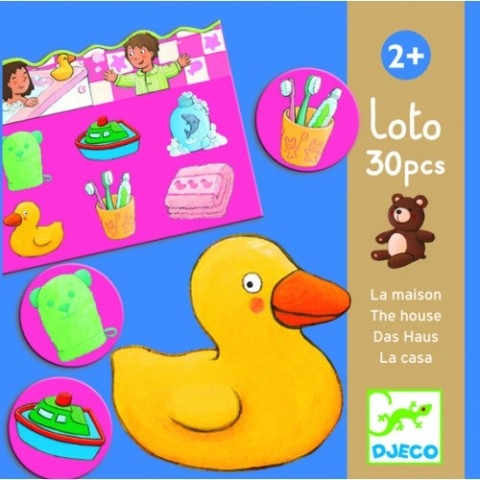 Djeco Game - Lotto of the House