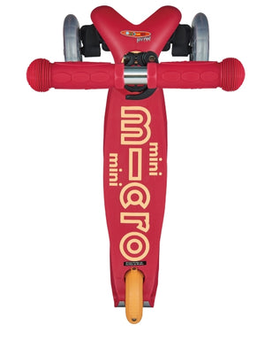 Micro Kickboard Mini Deluxe Scooter - Ruby Red