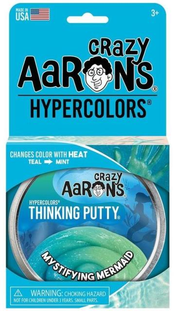 Aaron's Thinking Putty World Hypercolor - Mystifying Mermaid