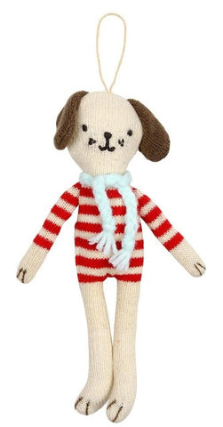 Meri Meri Ornament Knit Dog