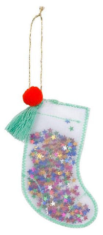 Meri Meri Ornament Shaker Stocking