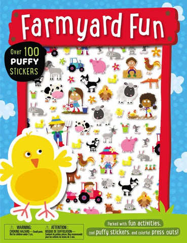 Puffy Stickers Activity Book:  Farmyard Fun