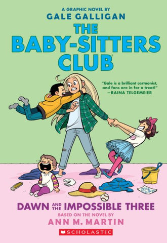 Baby-Sitters Club 5 Dawn and the Impossible 5, Graphic Novel