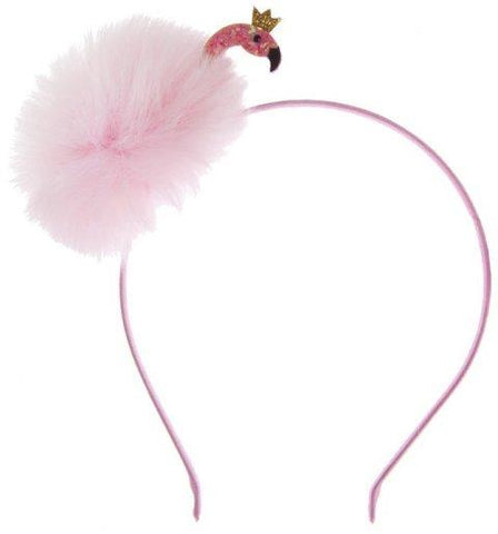 Great Pretenders Hair Accessory - Fun Flamingo Fluff Headband