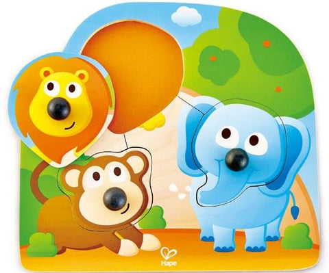 Hape Big Nose Puzzle Jungle