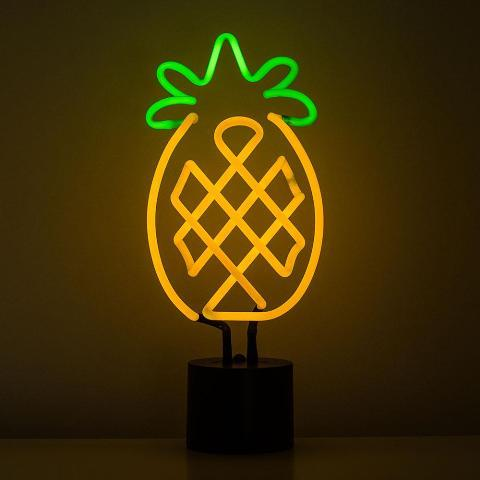 Neon Light Pineapple