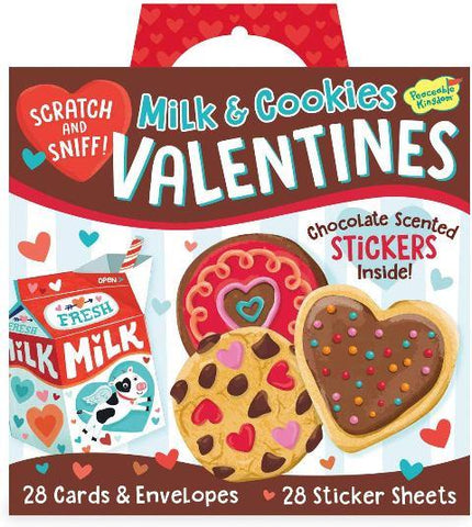 Valentine Super Pack Scratch & Sniff Milk and Cookies