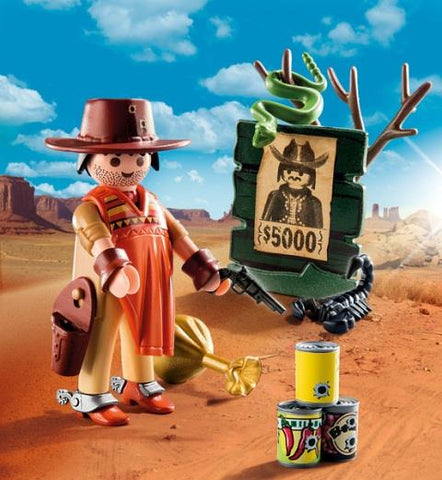 Playmobil Special PLUS Cowboy with Wanted Poster