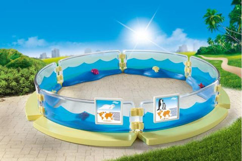 Playmobil Family Fun Aquarium Enclosure