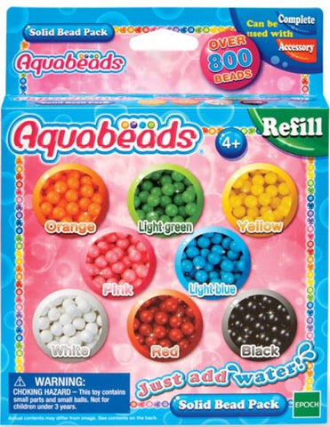 Aquabeads Refill Solid Beads