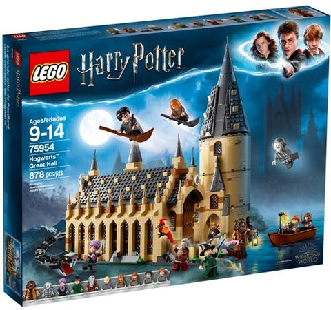LEGO Wizarding World Harry Potter Hogwarts Great Hall