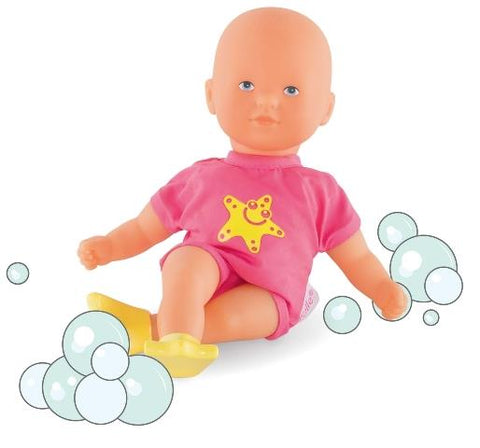 Corolle Doll Les Minis - Bath Baby Pink with Star Fish