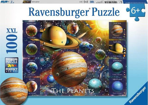 Ravensburger Puzzle 100 Piece, The Planets
