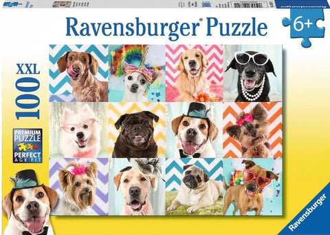 Ravensburger Puzzle 100 Piece, Doggy Disguise