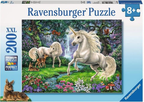 Ravensburger Puzzle 200 Piece, Mystical Unicorns