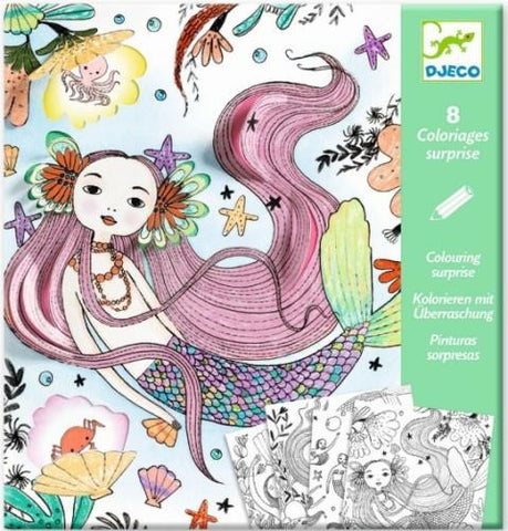 Djeco Colouring Surprise - Thumbalina