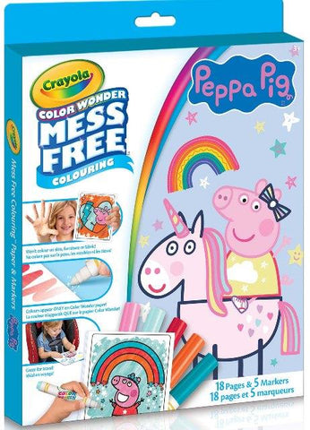 Crayola Color Wonder Peppa Pig Kit