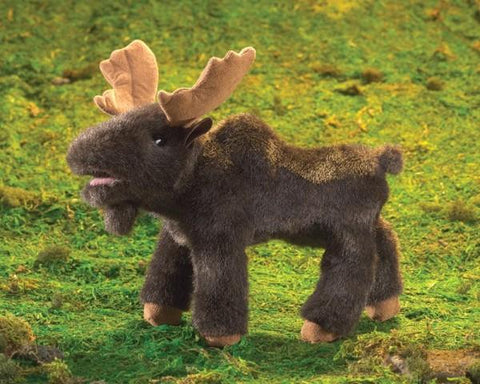 Folkmanis Puppet - Moose, Small