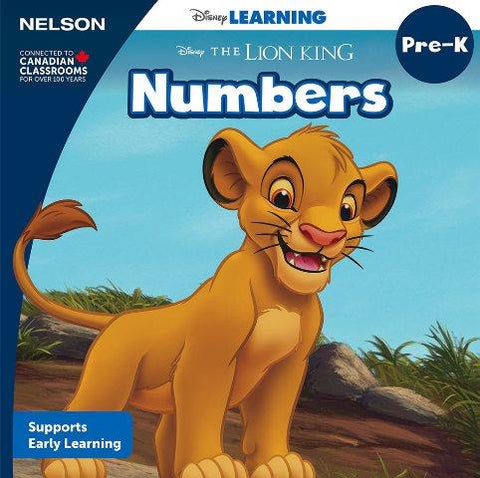 Nelson Disney Numbers Board Book Pre-K