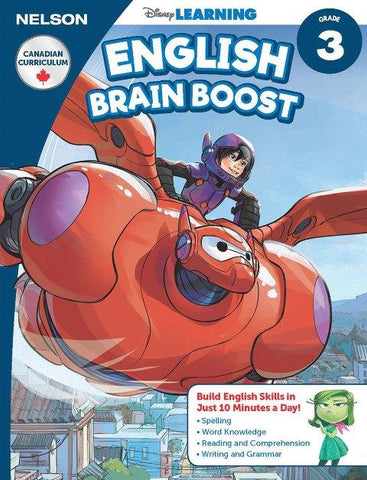 Nelson Disney English Brain Boost Workbook Grade 3