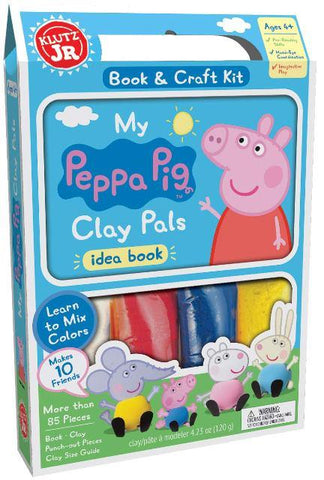Klutz Jr. Peppa Pig Clay Pals