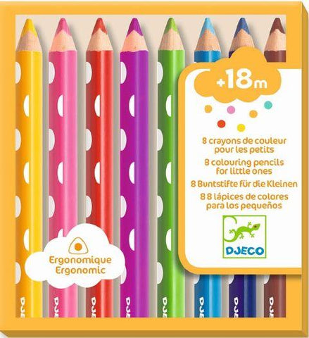 Djeco Art - Finger Paint Tubes, Sweet