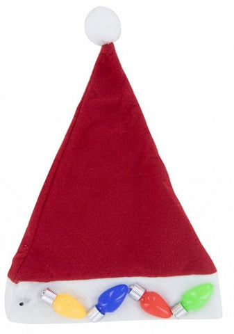 Lotsa Lites Jumbo Kooky Flashing Holiday Hat