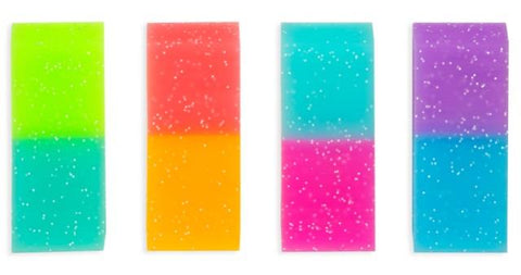 Ooly Oh My Glitter! Jumbo Erasers