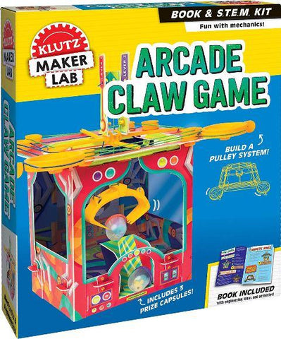 Klutz Maker Arcade Claw Game