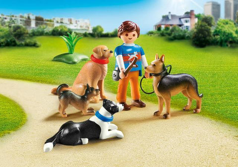 Playmobil City Life Pet Hotel Dog Trainer