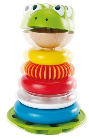 Hape Toddler Mr. Frog Stacking Rings