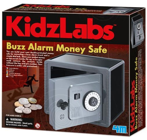 4M Kidzlabs Buzz Alarm Money Safe