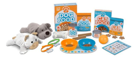 Melissa & Doug Pretend Feed & Play Pet Treats