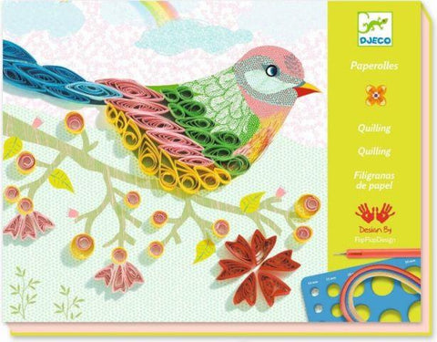 Djeco Art Kit - Quilling Spiral Seasons