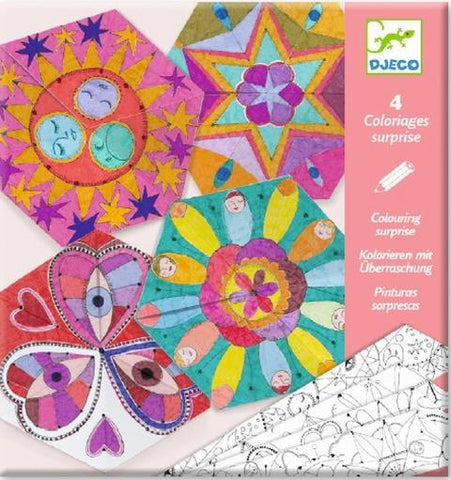 Djeco Art - Colouring Surprise Mandalas Constellation